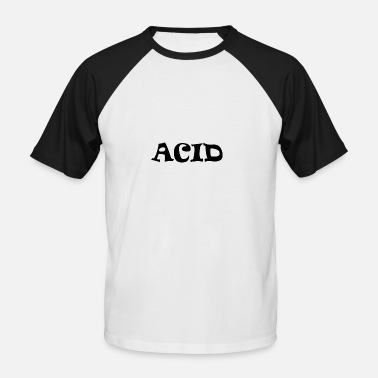 Acid Folk ACID - Men's Baseball T-Shirt