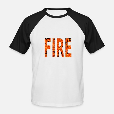 Incendie INCENDIE - T-shirt baseball manches courtes Homme