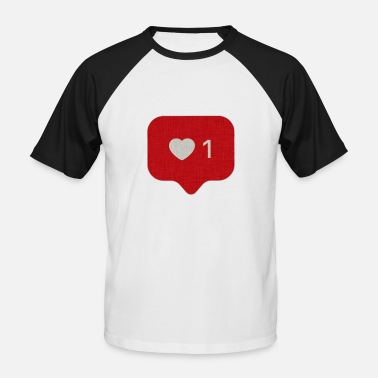 Instagram Instagram Comme 1 - T-shirt baseball manches courtes Homme