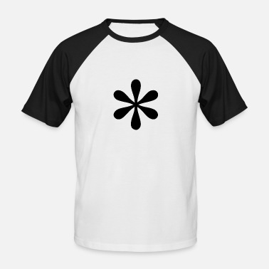 Asterisk asterisk - Men's Baseball T-Shirt