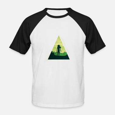 Excursion Excursion into the green - Men's Baseball T-Shirt