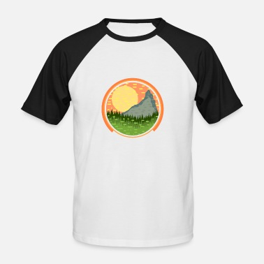 Landscaping landscape - Men's Baseball T-Shirt