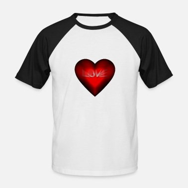 Zoom Me ZooM Un Corazon - T-shirt baseball manches courtes Homme