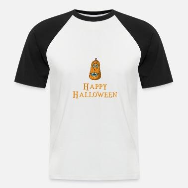 658a61e1 Happy Halloween Monster Gresskar Zombie Witch - Baseball T-skjorte for menn