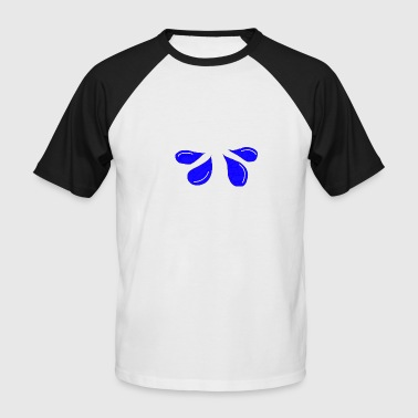 raindrop - Men's Baseball T-Shirt
