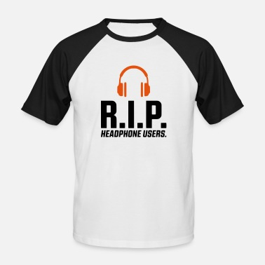 Rest In Peace REST IN PEACE TELEFOONGEBRUIKERS HEAD - SIMPLE - Mannen baseballshirt korte mouw