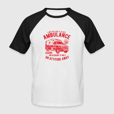 Emergence Ambulance Emergency - Men's Baseball T-Shirt