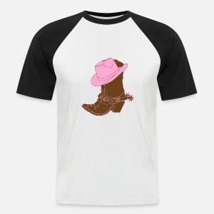vaquero ranchero Wester caballo guardabosques sheriff Camiseta ... 90b7171c855