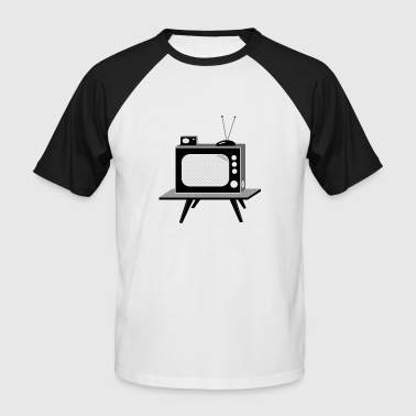 TV - T-shirt baseball manches courtes Homme