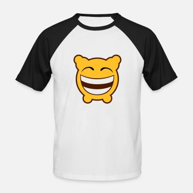 Gloomy Gloomy Laughs! - Men's Baseball T-Shirt