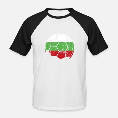 Bulgaria Sport Bulgaria soccer ball football - Men's Baseball T-Shirt