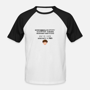 Raconter Raconte-moi une histoire - T-shirt baseball manches courtes Homme
