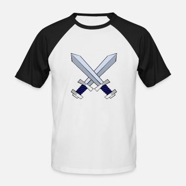 Swords sword - Men's Baseball T-Shirt