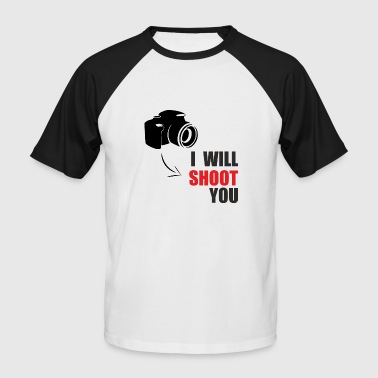 shooter - Men's Baseball T-Shirt
