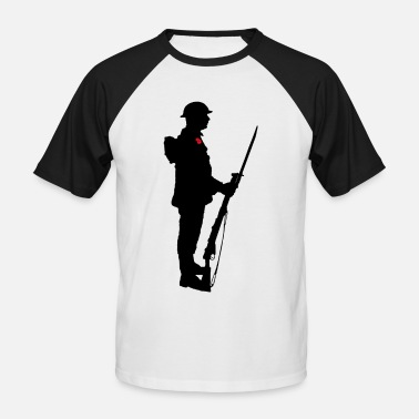 Remembrance Day Remembrance Day Soldier WW1 - Men's Baseball T-Shirt