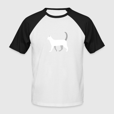 Cat - cat - Men's Baseball T-Shirt