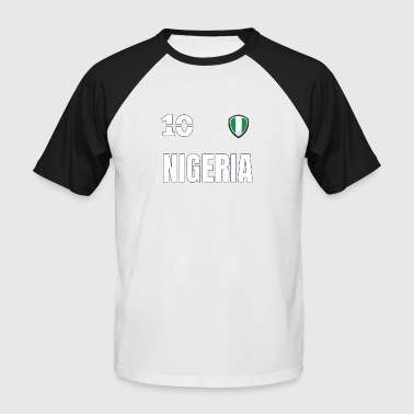 Nigeria 2018 Nigeria Jersey jersey rétro 2018 Style - T-shirt baseball manches courtes Homme