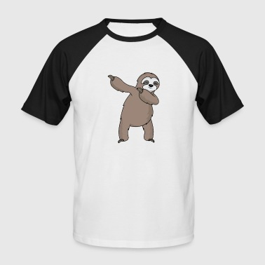Sloth Dab Dabbing sloth sloth dab gift - Men's Baseball T-Shirt