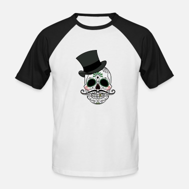 Day Of The Dead Day of the Dead - Männer Baseball-T-Shirt