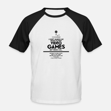 Video Game VIDEO GAMES - Men's Baseball T-Shirt