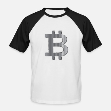 Steelers Bitcoin Steel - T-shirt baseball manches courtes Homme