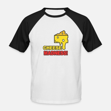 Fromage Fromage fromage fromage - T-shirt baseball manches courtes Homme