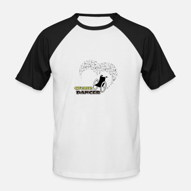 Dance Music Chair dancer music - Männer Baseball-T-Shirt