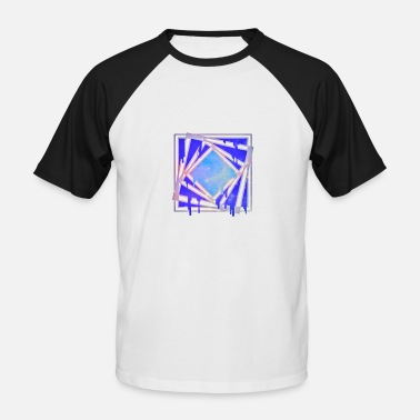 Hole Star Square hole - Men's Baseball T-Shirt