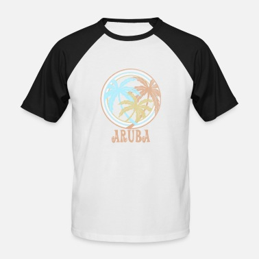 Aruba aruba - Men's Baseball T-Shirt