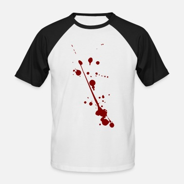 Halloween Blood Blood on Halloween - Men's Baseball T-Shirt