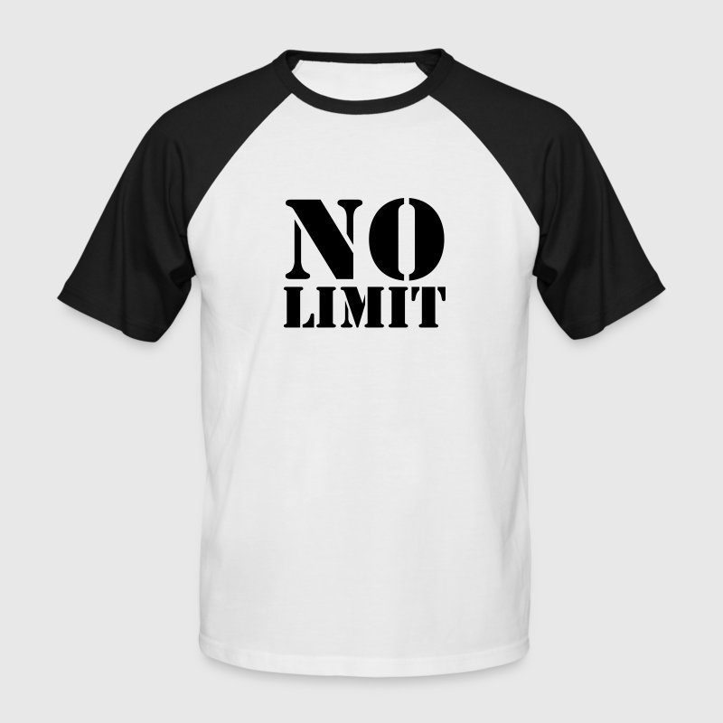 No Limit - Men's Baseball T-Shirt