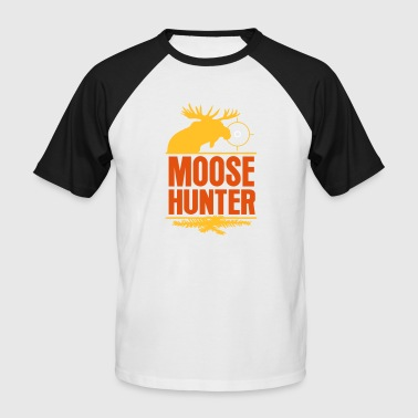 Hunter Shirt Moose Hunter Moose Hunter Moose Hunt Hunt - Men's Baseball T-Shirt