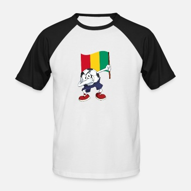 Guinea Football Guinea Dabbing football - Men's Baseball T-Shirt
