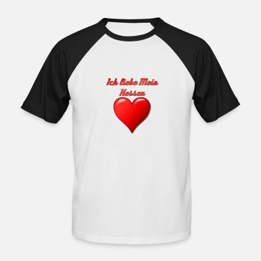 Rfa J'aime Hesse - T-shirt baseball manches courtes Homme