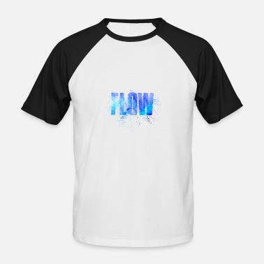 Flowing flow - Men's Baseball T-Shirt