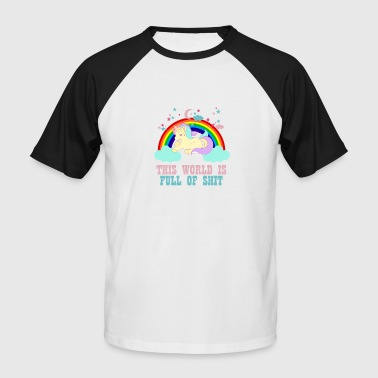 Vibrator Unicorn vibrations - Men's Baseball T-Shirt