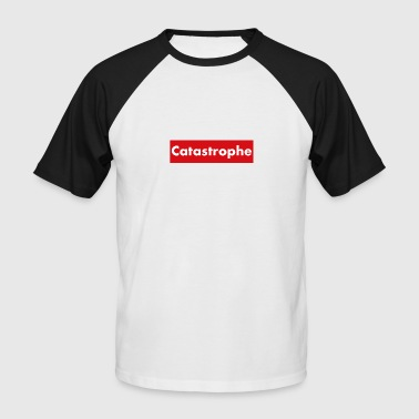 CATASTROPHE - T-shirt baseball manches courtes Homme