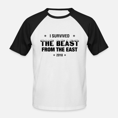 Wale Jokes I Survived - The Beast From The East - 2018 - Men's Baseball T-Shirt