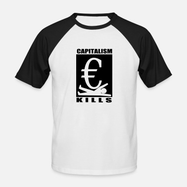 Capitalisme capitalisme - T-shirt baseball manches courtes Homme