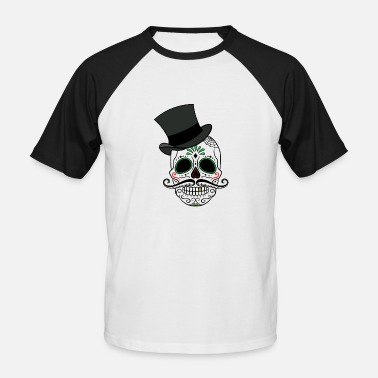 Day Of The Dead Day of The Dead - Baseball T-skjorte for menn