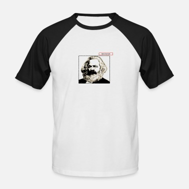 Karl Karl Marx - T-shirt baseball manches courtes Homme