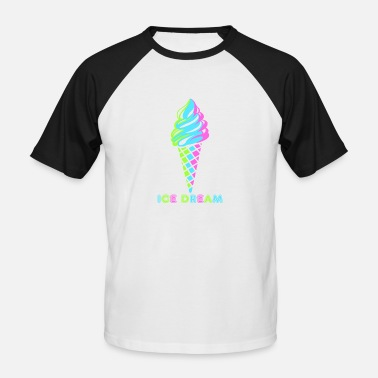 Ice Lolly ice cream ice dream - Men's Baseball T-Shirt