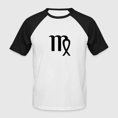 Zodiac Virgo Design – The Sign of Virgo - Kortermet baseball skjorte for menn