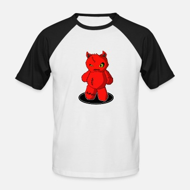 Devil Cute Little sweet devil, little devil cute figure - Men's Baseball T-Shirt