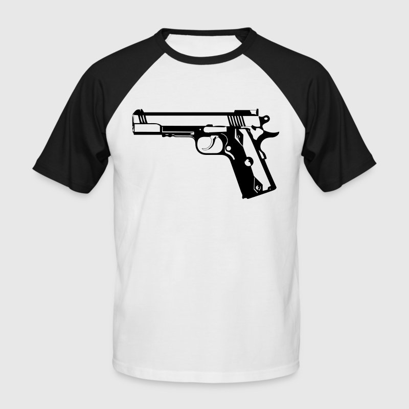 Colt 1911 - Men's Baseball T-Shirt