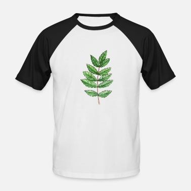 Ashes To Ashes Leaf of an ash - Men's Baseball T-Shirt
