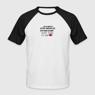 Seducing How to seduce me - Men's Baseball T-Shirt
