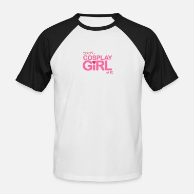 Cosplay Cosplay girl - Men's Baseball T-Shirt