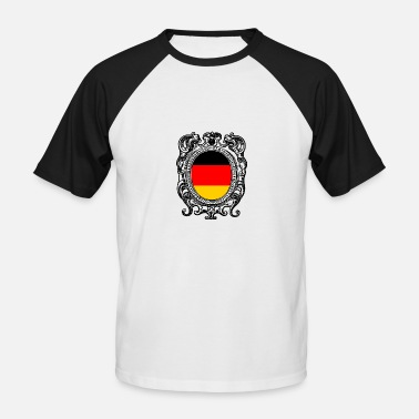 Flag Of Germany Germany flag Germany flag - Men's Baseball T-Shirt