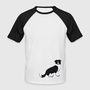 Border Collie - T-shirt baseball manches courtes Homme